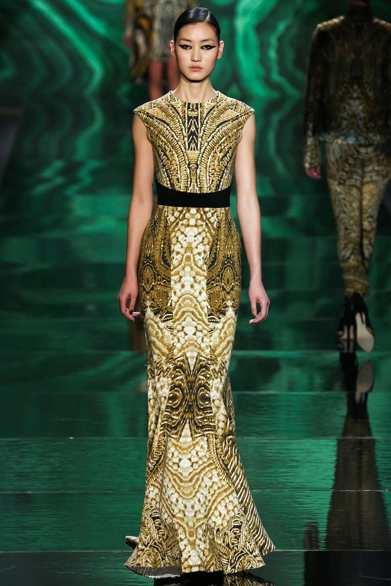Gilded Gladiator Gowns