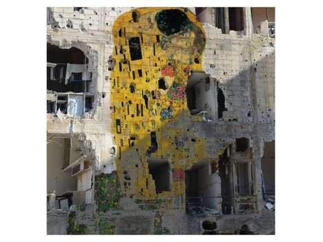 Freedom Graffiti by Tammam Azzam