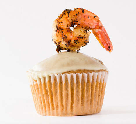 DIY Savory Gumbo Cupcakes - Fat Tuesday Meets Mardi Gras with This Gumbo Cupcake Recipe