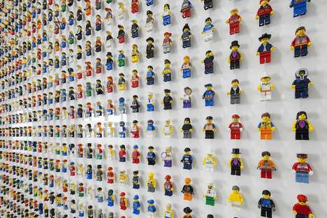 LEGO People Wall