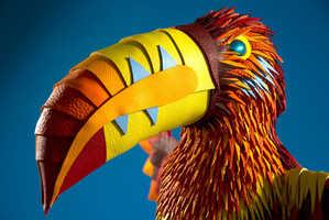 Zim & Zou Revitalize Hermes Scraps in 'The Eternal Jungle' Art Piece