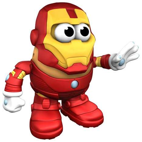 iron man potato head