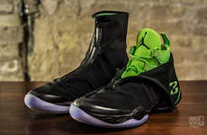 Rubber Boot Basketball Sneakers