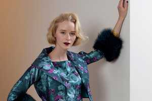 The Barbara Tfank Fall 2013 RTW Collection is 1950s-Inspired