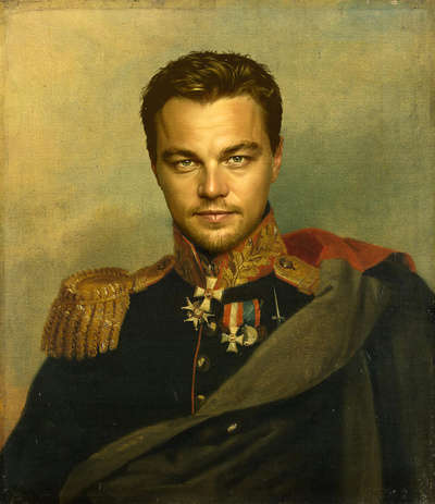 Celebrity Soldier Portraits (UPDATE)