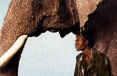 Safari Shower Fashion Ads