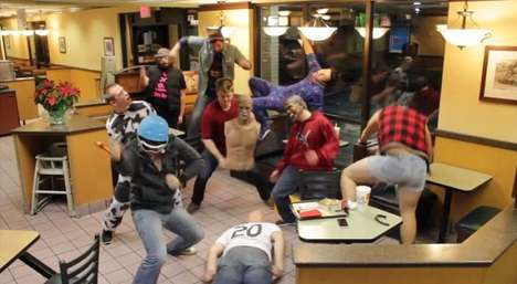 Restaurant Viral Dance Videos - McDonalds is Used as a Spot for These Harlem Shake Videos