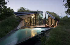 Modern Sunken Houses