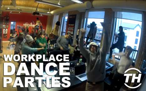 Workplace Dance Parties - Trend Hunter Office Does Best Harlem Shake Video
