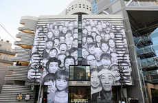 Gallery Facade Murals - This Giant Mural by French Artist JR Tells the Story of a Community