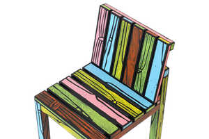 These Chairs by Richard Woods and Sebastian Wrong Look Animated