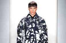 Monochromatic Graffiti Menswear