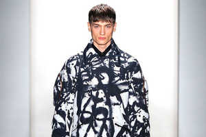 The Tim Coppens 2013 Fall Men's Collection is in Honor of Belgium