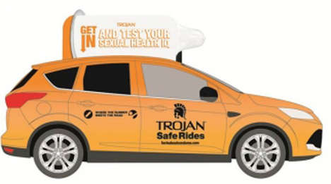 Trojan Safe Ride taxis