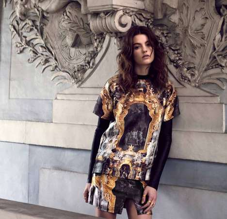 Baroque Opulence Streetwear - The Ksubi Autumn/Winter 2013 Collection is Elegantly Ornate