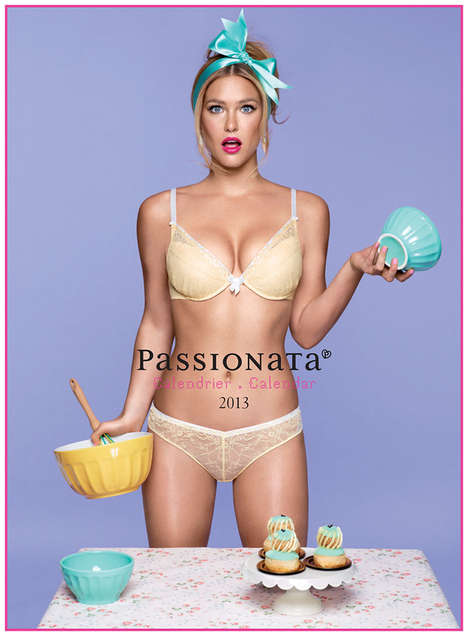 Pin-Up Housewife Campaigns (UPDATE) - Bar Rafaeli Models for Passionata Lingerie 2013 Collection