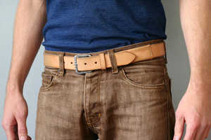 This Travel Belt by Barret Alley Will Keep Valuables Fashionably Safe