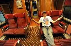 LIfe-Sized Railroad Car Replicas - Train in the Basement Appears to be Astonishingly Authentic