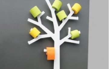 PQtier Toilet Paper Tree