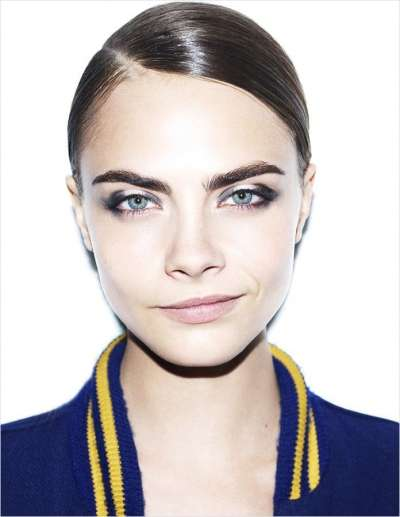 27 Intriguing Cara Delevigne Features - From Model Cara Delevigne Editorials to Smirking Close-Ups
