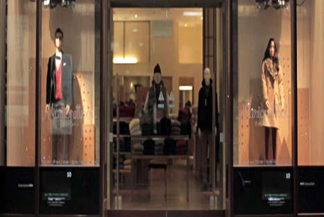 Movement-Mimicking Mannequins - The United Arrows Marionettebots Attract Customers Through Motion