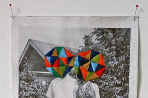 Happy Red Fish Combines Sewing & Photography to Create Multihued Prism Ar