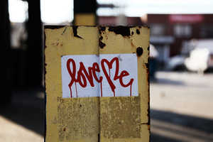 The Brooklyn Street Art Blog Celebrates Valentine's Day with Love Images