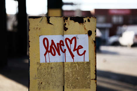 Romantic Street Art - The Brooklyn Street Art Blog Celebrates Valentine's Day with Love Images