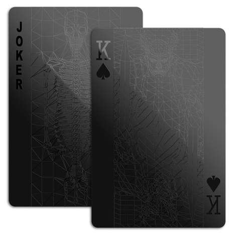 stylish playing cards
