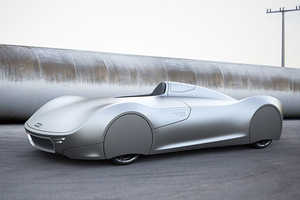 This Modern Classic Car Tributes a Fatal Attempt at a Speed Record