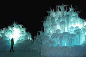 Designer Brent Christensen Creates Awe-Inspiring Ice Castles