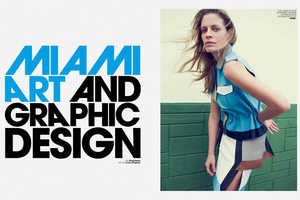 Marie Claire Italia February Takes Inspiration from Miami Vice