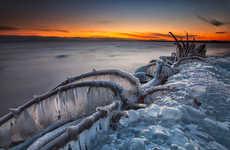 Surreal Ice Cap Captures