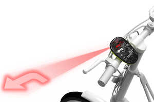 The Open Sight Bike GPS by Kim Tae-jin Lights Up Your Direction