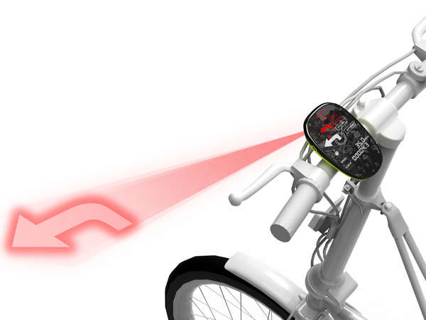 Luminous Bike Indication Signals