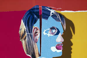 The Daniel Gordon Collages Layer Printed Internet Images