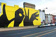 Loving Hand Gesture Installations - The Baltimore Love Project is Socially Symbolic and Sweet