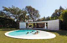 Communal Contemporary Bungalows - Cadaval & Solà-Morales Have Created a Communal Paradise