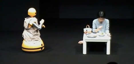 Real Robotic Stage Actors - This Theatre Troupe in Japan Performs Using Real Robot and Human Actors