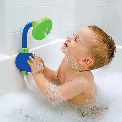 Child-Friendly Shower Heads - This Kid's Shower Head is the Perfect Way for Little Ones to Bat