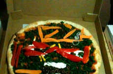 Personalized Pizza Paintings