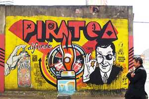 Toxicomano Paints Obscure Portraits Around Bogota in Columbia