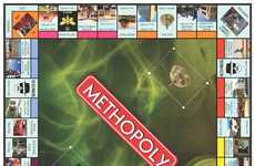 Addictive Drug Board Games - Methopoly is Fashioned After an Illegal Substance Dealer's House
