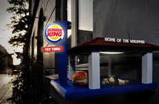 Fast Food Bird Feeders - This DIY Birdhouse of Burger King by Brian Wolter is Open Late