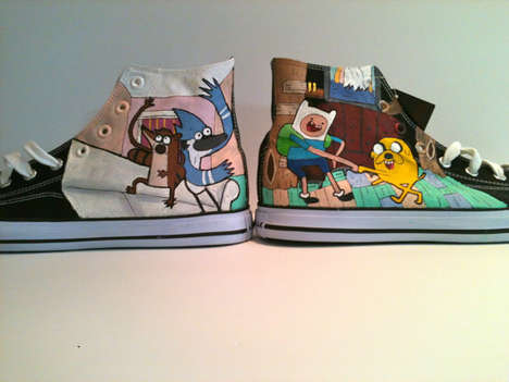 Cartoon Inspired High Tops