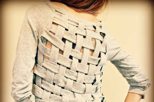 This Weave Shirt by Trash to Couture Will Breathe New Life into Clothes
