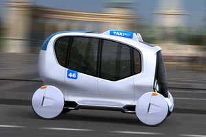 Taxi BP is Designed for Budapest in the Year 2046