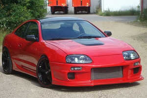 This Toyota Celica Supra Replica was Built by a Danish Teenager