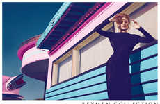 Retro Motel Fashion Ads