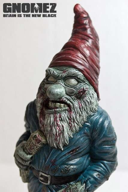 Zombiefied Lawn Ornaments - The Todd Grumble GnomeZ are Horrifyingly Detailed